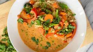 RECIPE: Easy vegetable curry for Meatless Monday