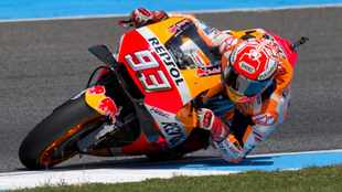 Cautious Marques eyes MotoGP crown on team's home turf