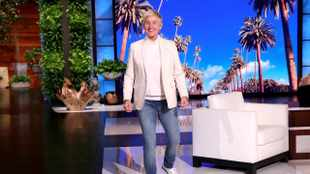 'Ellen' the talk show is still forcing a smile