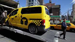 New York's new yellow cab unveiled