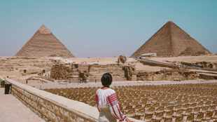 WATCH: Egypt disinfects Pyramids of Giza amid covid-19 outbreak