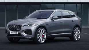 Jaguar F-Pace gets fresh look, new engines and tech for 2021