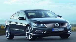 New face for VW's 'four-door coupe'