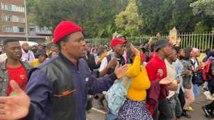 PICS: Protesting DUT students vow to 'shut down' university