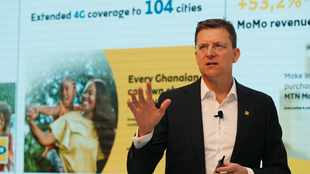 MTN Chief Executive Rob Shuter steps down