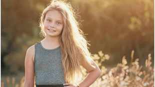 Despite rare cancer Lorraine,11, opts to live life to the fullest