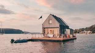 WATCH: This floating villa in Australia is self-isolation goals