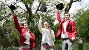 Matric results: It's a hat trick for the Buckland triplets as they bag more than 20 distinctions