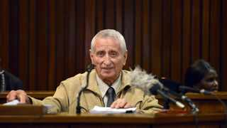 02/08/2017. Joao Rodrigues at the high court in Pretoria during the Ahmed Timol inquest. Picture: Oupa Mokoena