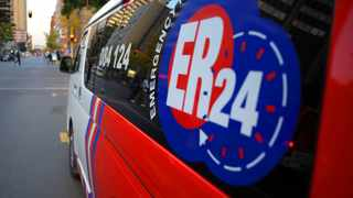 02062010. Members of the ER24 were stoped by the members of the Tshwane Metro Police and told that something was wrong with they lights Picture: Sizwe Ndingane