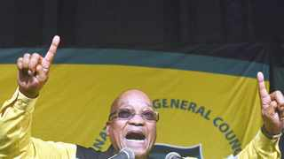 091015 African National Congress President Jacob Zuma speaks during the ANC NGC confence held at Gallagher convention centre. Picture:Boxer Ngwenya
