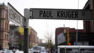 11/09/2008 Street names in Pretoria like Vermeulen and Paul Kruger Streets are going to be replaced with politically correct names in the near future. Picture: Phill Magakoe