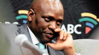 360 05-12-2012 SABC acting chief officer Hlaudi Motsoeneng during the media briefing after the management decided to drop the Metro FM talk show host by Sakina Kamwendo. Picture: Tiro Ramatlhatse