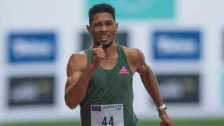 400m world record-holder Wayde van Niekerk finally booked his ticket to the Tokyo Olympics on Saturday night. Photo: Phill Magakoe/AFP