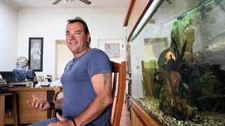 814 26.12.2013 A sailor Michael Kuun at an interview at his home in Benoni, following a drama when he was forced to abandon his yatch en route to the Caribbean and headed to St Helena Island. Picture: Motshwari Mofokeng