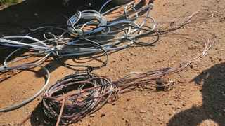 A 24-YEAR-OLD man has been sentenced to three years imprisonment for cable theft after he was arrested by the Tshwane metro police department. Photo: Supplied