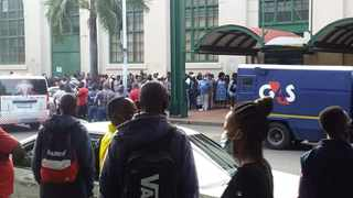 A CIT robbery took place at Durban. Picture: Supplied