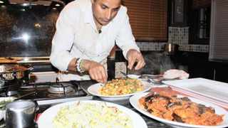 A TRULY AFRICAN EXPERIENCE: Reza Mahammads travels across the African continent left him marvelling at the ingenious ways people use their surroundings and produce to create the most tantalising dishes, in his Food Network show, Rezas African Kitchen. Picture: �Food Network