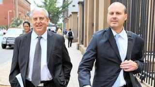A file picture of Ronald and Darren Bobroff. Picture: African News Agency (ANA)