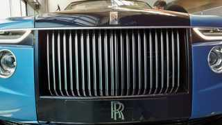 A hand made Rolls-Royce described as 'the most refined picnic facility on earth' is unveiled at the company's factory in Goodwood, Britain. Picture: Stuart McDill/Reuters