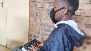 A learner takes part in the second annual Work Readiness Programme at Filadelfia Secondary School. Picture: Goitsemang Tlhabye