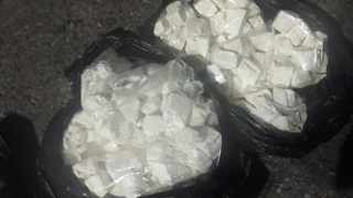 A man en route to Cape Town from Gauteng was bust with over R5.7 million worth of cocaine on Friday. Photo: Hawks