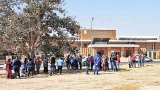 A number of city councillors arrived at the Northern Cape High Court, where they applied for an urgent court interdict to uphold the motion of no confidence in executive mayor Mangaliso Matika. Picture: Danie van Der Lith