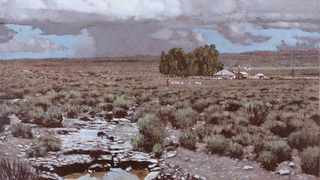 A painting of the Karoo landscape by artist John Meyer and donated for the Art For The Arch auction fetched more than R850 000. The auction was held to raise funds to preserve the legacy of Archbishop Emeritus Desmond Tutu who turns 90 on 7 October 2021. PICTURE: SUPPLIED