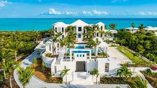 A place both expensive and super luxurious is Triton Luxury Villa in Turks and Caicos. Picture: Triton Luxury Villa.