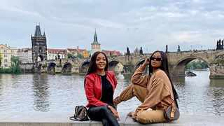 A possible Bonang X Pinky Girl travel show will introduce us to a new travel language. Picture: Instagram/Bonang Matheba.