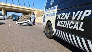 A private ambulance service in Durban was unable to get to a critically ill patient because of the violent unrest.