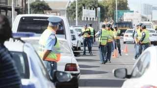 A roadblock in the Western Cape. File photo: Henk Kruger / ANA