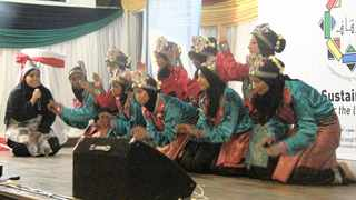 A saman dance performance during the 10-year anniversary of the Persaudaraan Pencak Silat South Africa in Bosmont, Joburg, in celebration of introducing Indonesian sports and culture to SA. Picture: