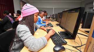 A school in Free State's third largest city, Kroonstad, will pilot teaching robotics and coding. Picture: Willem Law.