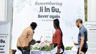 A special memorial service to commemorate 27-year-old Ji-in Gu, who died in South Korea as a result of forced religious conversion. Picture: Armand Hough/African News Agency.