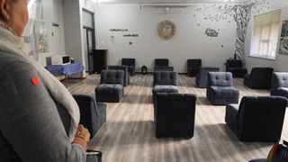 A staff room seating that promotes social distancing. Picture Courtney Africa/African News Agency (ANA)