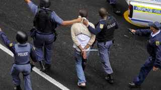 A suspect was arrested after a robbery at a Mr Price store in St George's Mall, Cape Town. Photo: Independent Newspapers