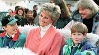 A teenaged Prince William was reportedly sent over the edge when his mother publicly announced details of her affair with Hewitt. Picture: Reuters