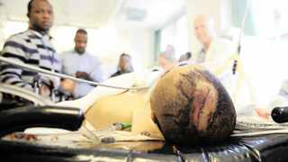 A trauma patient at Groote Schuur Hospital in Cape Town. File picture: David Ritchie/African News Agency (ANA)