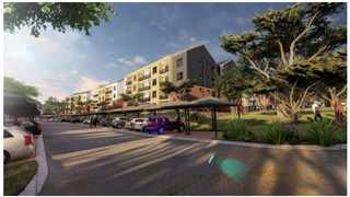 AN ARTIST's impression of the Mooikloof Mega City development east of the city. Picture: Supplied