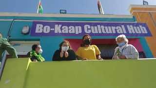ANC Deputy Secretary General Jessie Duarte shows thumbs up on a visit to Bo-Kaap. Picture: Shakirah Thebus