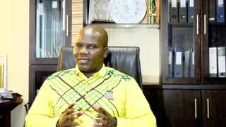 ANC Youth League chairperson for the eThekwini region, Thembo Ntuli. Picture: Tumi Pakkies