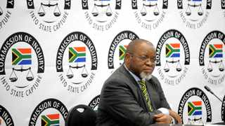 ANC national chair Gwede Mantashe testifying at the Zondo Commission. Picture:Nokuthula Mbatha/AfricanNewsAgency/ANA