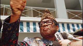 According to Cohen, the main reason the US supported Zairean President Mobutu Sese Seko (pictured) as its strongman for so long was because the US needed to use his airports. File picture: Christophe Simon/AFP