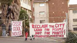 Activists have occupied Woodstock Hospital, which they have since named Cissie Gool House, since 2017 in an effort to draw attention to the need for affordable housing.