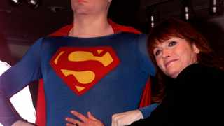 Actress Margot Kidder appears at the Superman movie reunion at the Warner Bros. Museum in Burbank, California in 2001. Kidder portrayed Lois Lane in the film which also starred Christopher Reeve as Superman. File picture: Fred Prouser/Reuters
