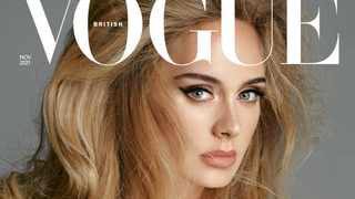 Adele on the cover of British Vogue: Picture: Twitter