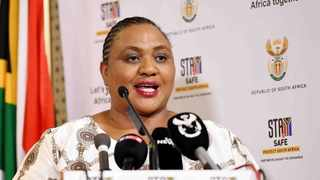 Agriculture minister Thoko Didiza meets with business CEOs and agri-sector to discuss concerns over food shortages. Jairus Mmutle/GCIS