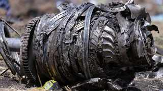 Airplane engine parts are seen at the scene of the Ethiopian Airlines Flight ET 302 plane crash, near the town of Bishoftu, southeast of Addis Ababa, Ethiopia March 11, 2019. File photo: REUTERS/Tiksa Negeri.