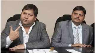 Ajay and Atul Gupta. Picture: African News Agency (ANA)